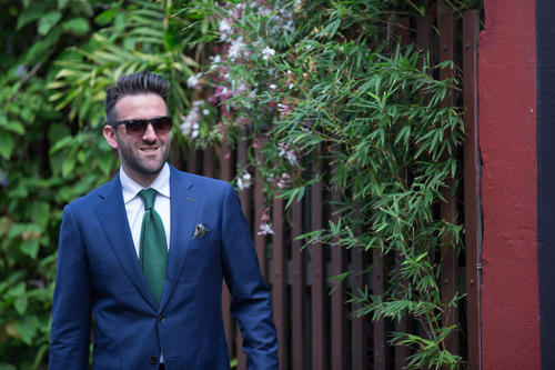 Carl Nave handmade suits melbourne