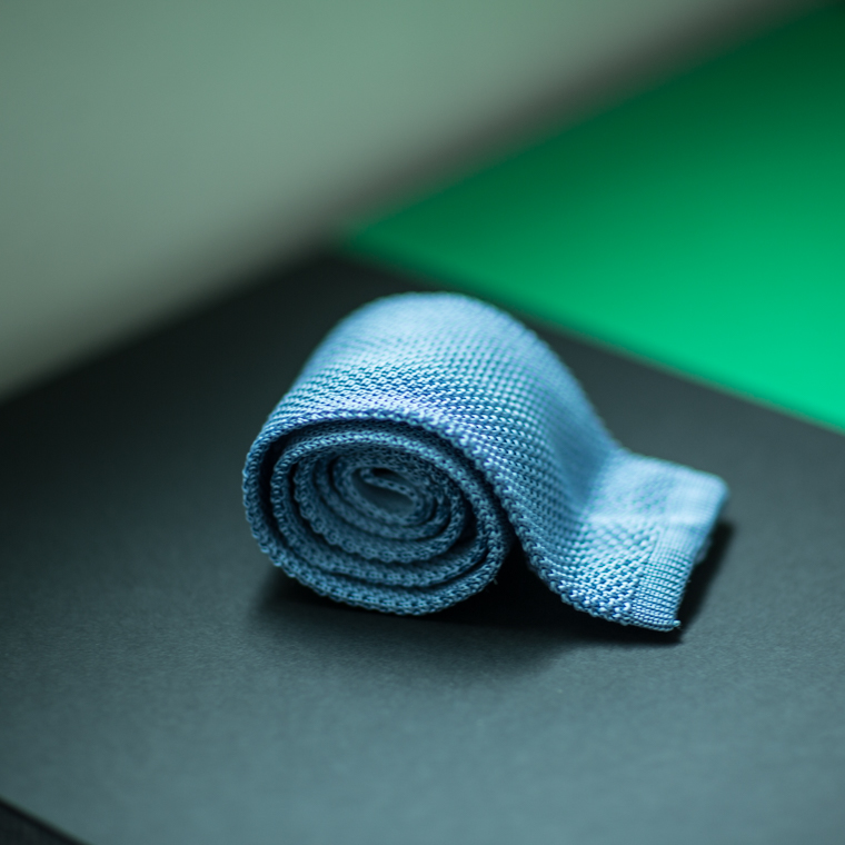 L.Blue Knit