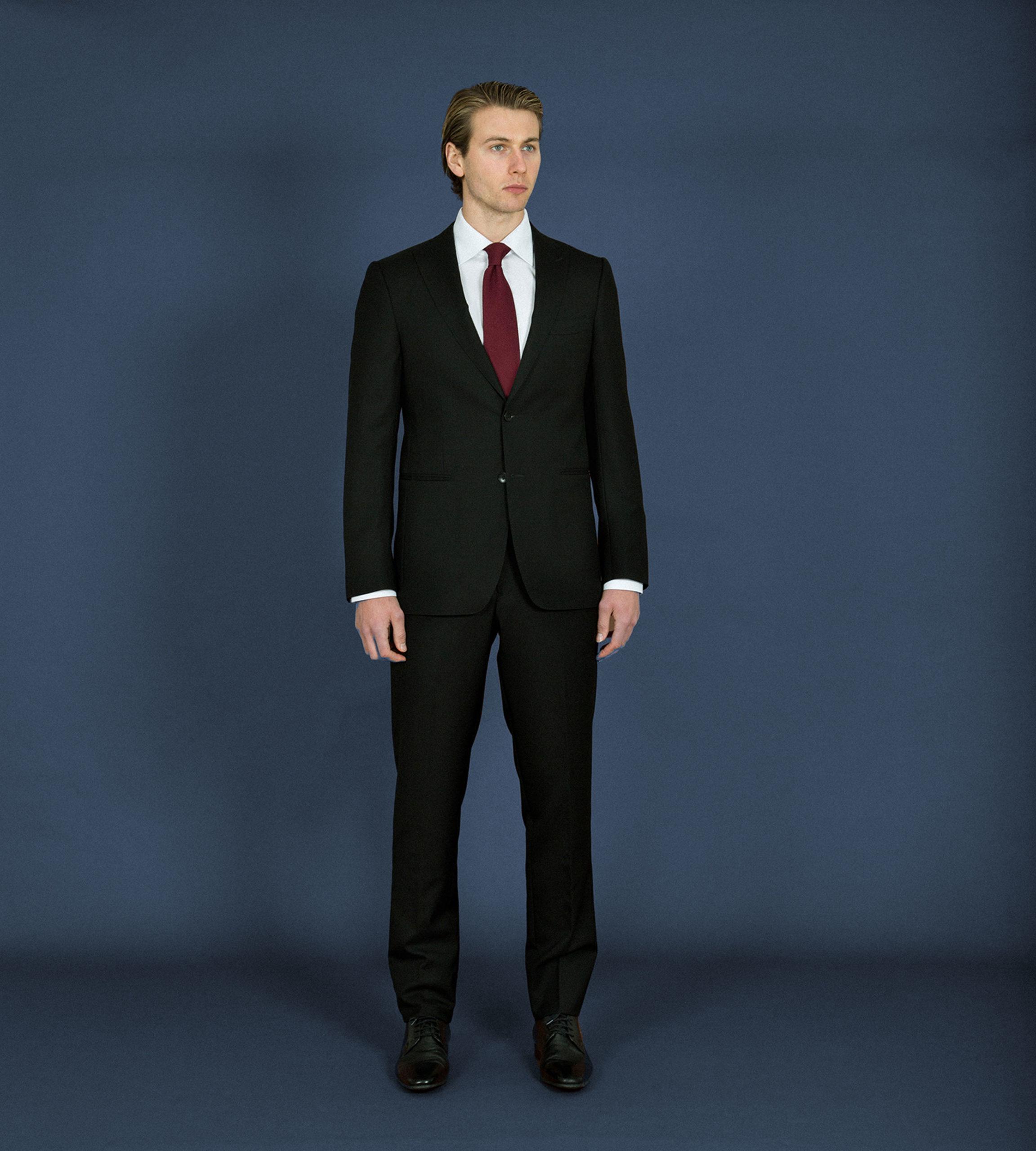 Carl-Nave-Romano-Jacket-Black-Melbourne-Tailor-Bespoke