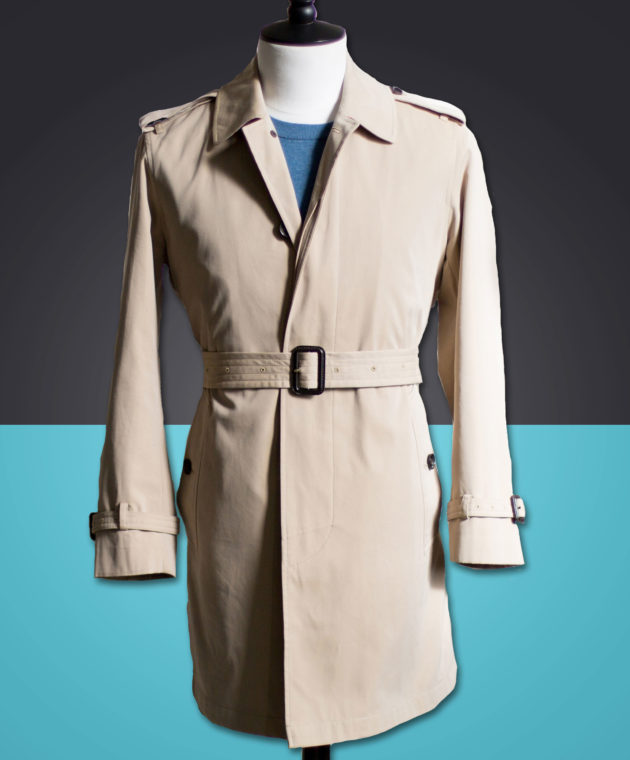 Carl-Nave-Single-Breasted-Trench-Coat-Beige-Bespoke-Melbourne-Tailor